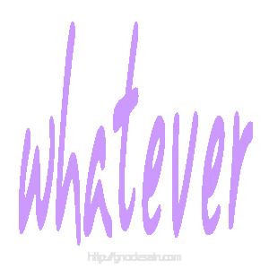 Avatar Whatever