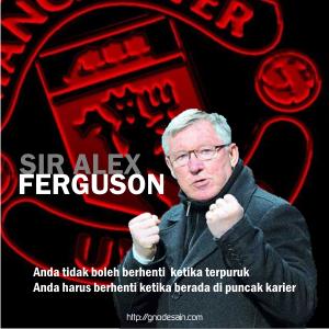 Sir Alex Ferguson Quote