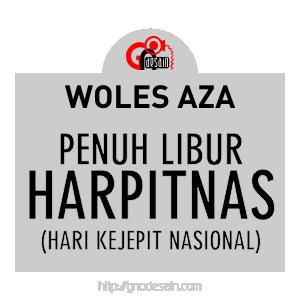 Avatar Woles Aza - Penuh Libur Harpitnas