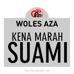 Avatar Woles Aza - Kena Marah Suami