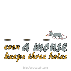 Avatar Mouse Keeps 3 Holes